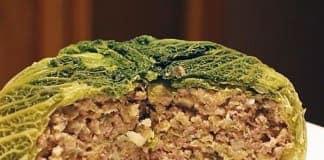 фаршированная савойская капуста