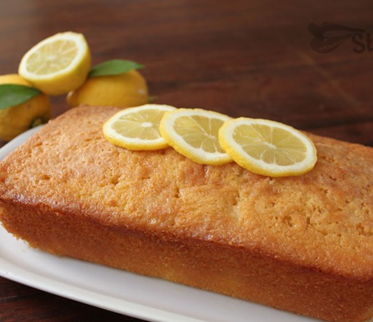 лимонный кекс классический