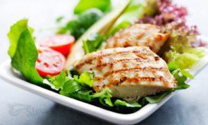 Нежирное мясо здоровый завтарк