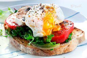 яйца здоровый завтрак