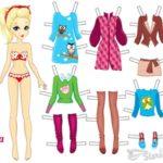 бумажные-куклы-Елена-с-одеждой-для-вырезания-распечатать