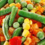 Зеленый горошек, кукуруза, спаржевая фасоль
