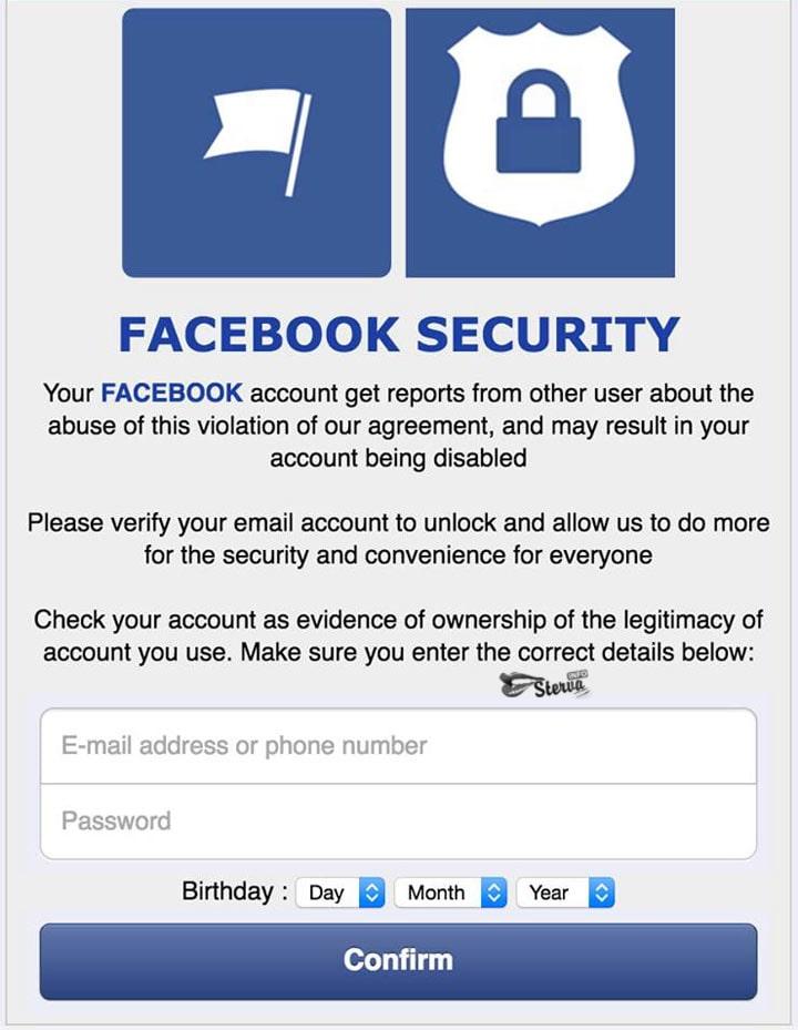Новая Уловка мошенников на Facebook прочесть всем