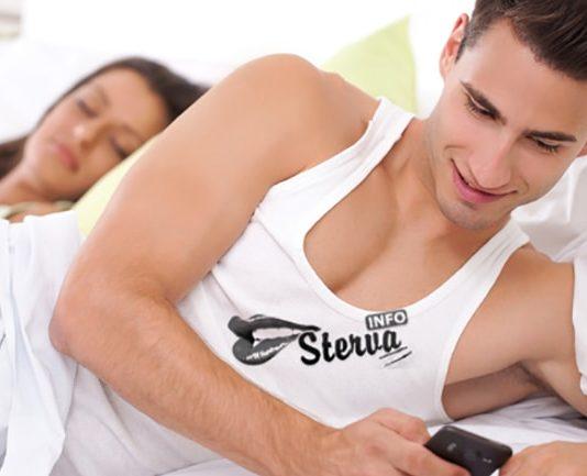 мужчина, женщина, измена, телефон, приложения