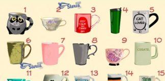 Тест Выбери чашку. Узнай какая черта характера главная