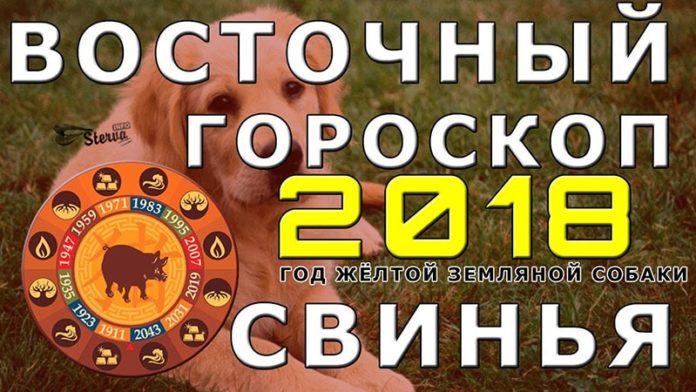 Восточный ГОРОСКОП НА 2018 ГОД ДЛЯ СВИНЬИ(КАБАНА