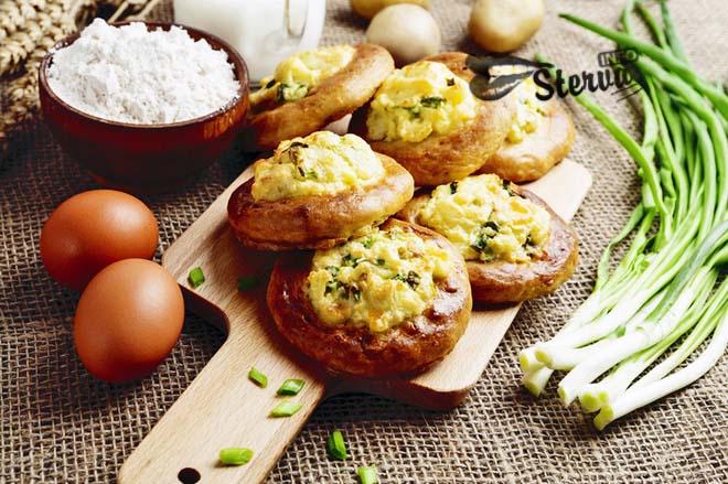 Блюда на Масленицу Картофельные ватрушки