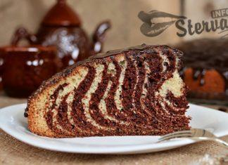 Пирог Зебра - рецепт нарядного угощения на праздничном столе