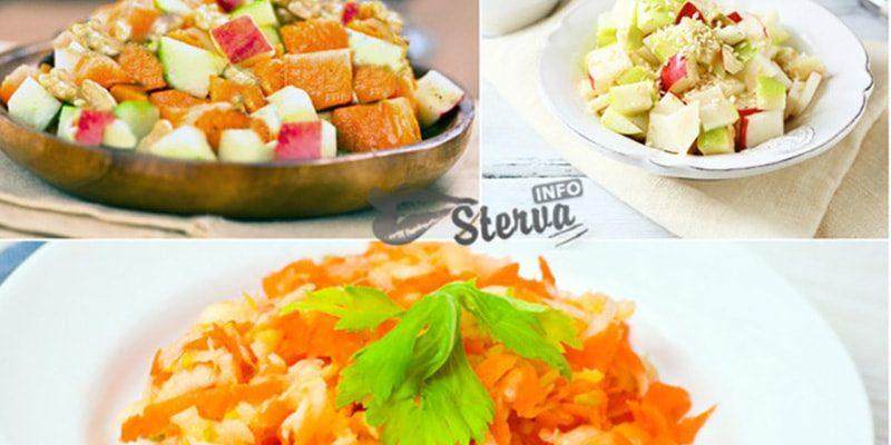 Постные салаты без растительного масла рецепты с фото