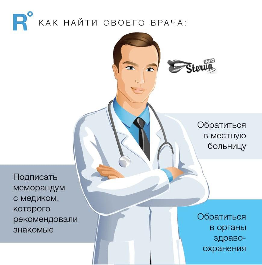 как найти своего врача