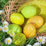 Что можно святить на Пасху яйца
