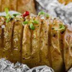 Рецепты на костре на майские праздники печеная картошка в фольге