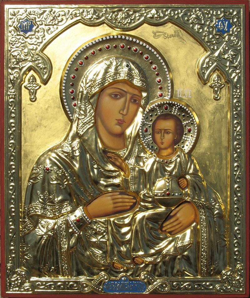 Икона Иерусалимской Божьей Матер