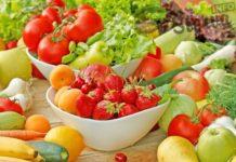 Летние салаты. Фруктово-овощной салат