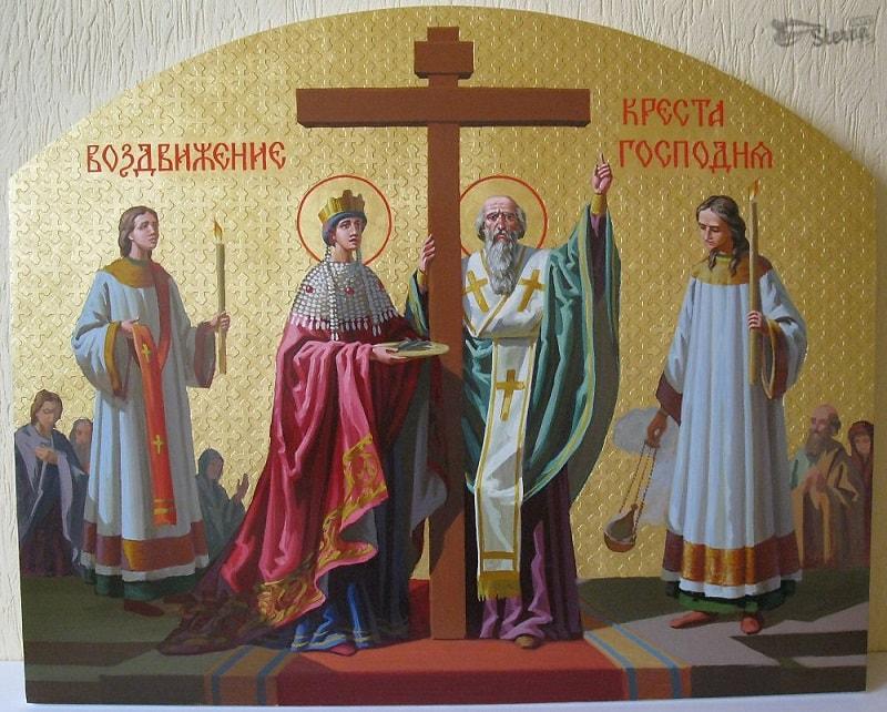 икона-заступница Воздвижения Креста Господня