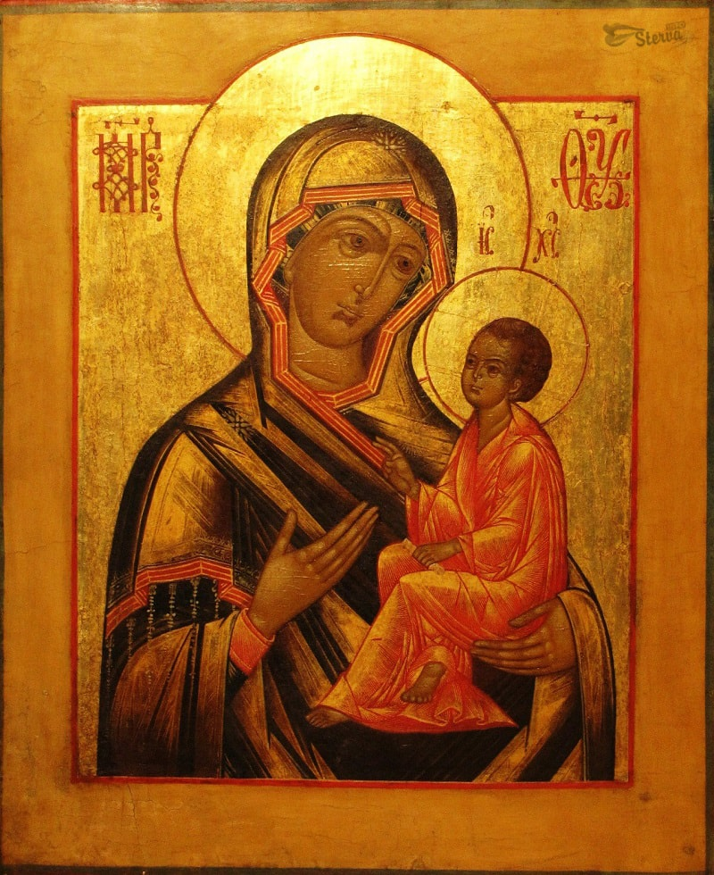 иконы Богородицы Тихвинской