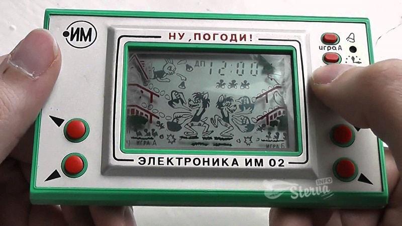 Микропроцессорные игры «Электроника