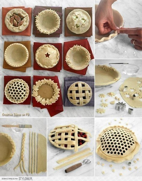 Идеи для красивой выпечки